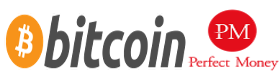 BitCoin & Perfect Money Logo